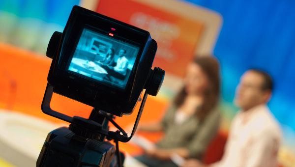 Съёмка телепередачи